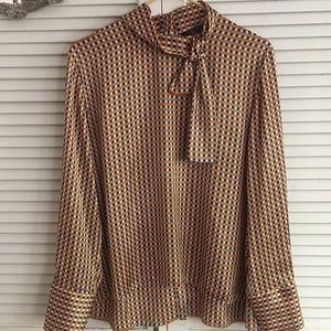 Zara silky blouse